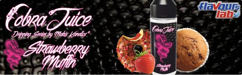 Strawberry Muffin - 24/120ml